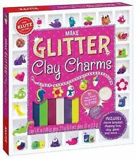 Make Glitter Clay Charms by Klutz Editors (2015, Mixed Media)