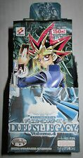 JAPANESE YU-GI-OH! DUELIST LEGACY volume 4 BOOSTER PACKS (24 PACKS LOT) with BOX