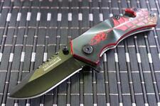 *CAN* Tactical Spring Assisted Blade folding Open Pocket Knife 553BR-S-TF