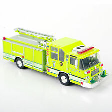 """Handmade""1/64 1997 Pierce Quantum Pumper USA Diecast Fire Truck Car  Model"