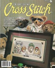 Leisure Arts For The Love Of Cross Stitch March '95 Magazine - Yo Dude Bears