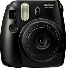 Fuji Instax Mini 8 Instant Film Camera (Black) Fujifilm