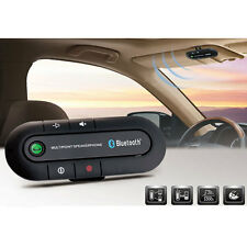 Bluetooth Hands Free Speaker Stereo Wireless Charger Car For Mobile Phone 2p
