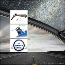 2x Acquamax Front Windscreen Window Wiper Blades for Subaru Impreza 00-07 #55&41