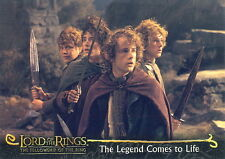 LORD OF THE RINGS FELLOWSHIP OF THE RING 2001 TOPPS PROMO CARD P2