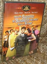 HOW TO SUCCEED IN BUSINESS WITHOUT REALLY TRYING DVD,NEW & SEALED,RARE, REGION 1