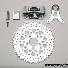 "Wilwood GP310 Rear 48T Sprocket RH Brake Kit Fits HarleyDavidson W/ 5X3.25"" B.C~"