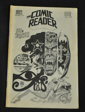 THE COMIC READER #119 SON OF DRACULA BY FRANK THORNE COVER  F-VF  RARE FANZINE!