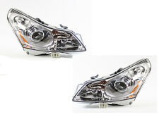 TYC NSF Right & Left Sides Xenon HID Headlights Lamp for Infiniti G35 2007-2008