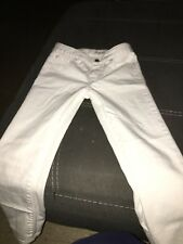 3 polo shirts and a pair of white polo pants for little girl size 6