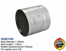 Catalytic Converter Universal Metallic Substrate 120mm E4 400cpsi