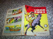 COLLANA RODEO STORIA DEL WEST N.13 ORIGINALE 1968 BUONO TIPO TEX ZAGOR MARK