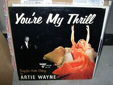 ARTIE WAYNE you're my thrill / sung for anita ekberg ( jazz ) - cheesecake cover