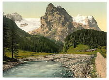 Rosenlaui Bernese Oberland A4 Photo Print