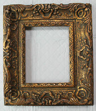 GILDED WOOD FINE HAND-CARVED PICTURE FRAME