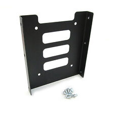 "2.5"" to 3.5"" Black Metal SSD HDD Mounting Adapter Bracket Hard Drive Holder"