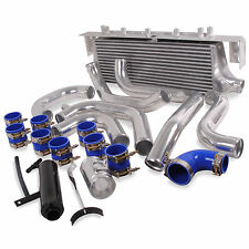 FRONT MOUNT INTERCOOLER KIT FMIC FOR SUBARU IMPREZA TURBO GDA GDB 01-06 WRX STi
