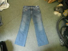 "Diesel RYOTH-N Jeans Waist 31"" Leg 31"" Faded Dark Blue Ladies Jeans"