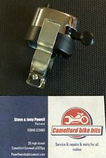 "Chrome Horn Dip Switch 7/8"" Classic Bike Cafe Racer Free Uk Postage"