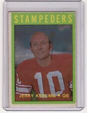 JERRY KEELING 1972 72 OPC O-Pee-Chee #54 CFL Calgary Stampeders EX/EX+ Grey Cup!