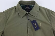 Men's POLO RALPH LAUREN Light Army Green Lined / Filled Jacket M Medium NWT NEW