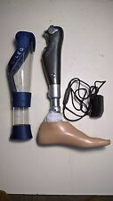 Otto Bock C-leg Microprocessor prosthetic Knee with left Trias foot
