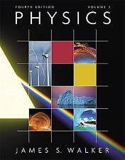 Physics Vol. 2 (4th Edition), Walker, James S., 0321611128, Book, Acceptable