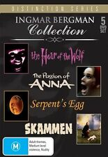 INGMAR BERGMAN - THE COLLECTION (5 FILMS/5 DVD SET) BRAND NEW!!! SEALED!!!