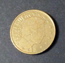50 Cent Euro Münze Luxemburg Prägejahr 2002 aus Umlauf Sammlerstück!