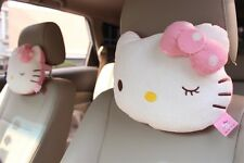 Cute Hello Kitty Car Seat Head Rest Cushion Pillow Neck Rest Pillow Winked  1pc