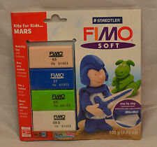 Staedtler Fimo Soft Brand New Kits for Kids... MARS 100g Free Shipping