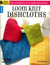 NEW Loom Knit Dishclothes by Kathy Norris Paperback Book (English) Free Shipping