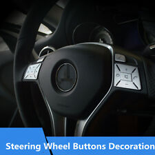 Interior Sequins For Mercedes-Benz GLA CLA GLK Steering Wheel Buttons Cover Trim