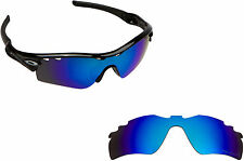 New SEEK Polarized Replacement Lenses for Oakley VENTED RADAR PATH Blue Mirror