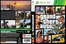 Gta v xbox 360 installation disque de jeu NO1 pal gta v grand theft auto five 5