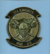 HSC-22 SEA KNIGHTS US NAVY SIKORSKY Helicopter Squadron Jack Patch