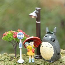 Anime My Neighbor Totoro DIY Figure Set Flower Pot Micro Landscape Gardening Toy