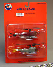 LIONEL HELICOPTER 2 PACK o gauge building scenery train 6-37112 NEW