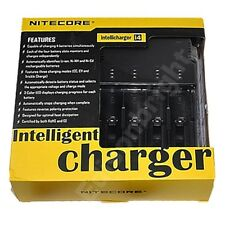 NEW NITECORE i4 Intellicharge Charger For 18650 AA 18500 14500 18350 16340 18700