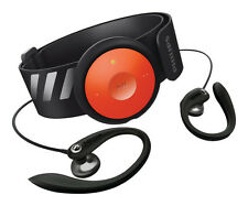Philips GoGEAR FitDot 4GB MP3 Player - Black/Orange (Discontinued) New