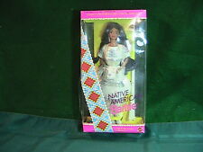 Barbie Dolls of the World Native American Special Edition 1992 never opened
