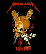METALLICA cd cvr Damage Inc TOUR 1986 Official SHIRT LRG New master of puppets
