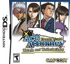 Phoenix Wright Ace Attorney Trials and Tribulations  (Nintendo DS, 2007)
