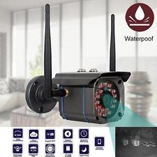 Wireless WiFi Outdoor IP Camera Security CCTV Waterproof Night Vision HD 720P KJ