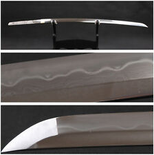 Folded Steel Clay Tempered 1095 Carbon Steel Naked Blade For JP Samurai Katana