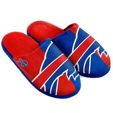 NFL Buffalo Bills American Football Team Slippers in Aqua / Orange UK 8 - 9
