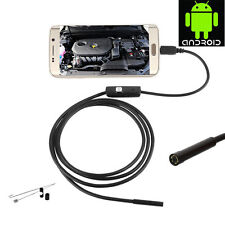 IP67 6LED 5M Snake Micro USB Endoscope Borescope Inspection Camera for Android