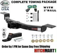 """FITS 2013-2016 CHEVY TRAVERSE CLASS 3 CURT TRAILER HITCH PACKAGE w 2"""" BALL 13424"""