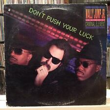 NM LP~WALLY JUMP JR. & The CRIMINAL ELEMENT~Don't Push Your Luck~[OG 1987 Issue]