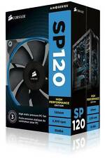 CORSAIR SP120 PWM Quiet Edition PC 12cm 120mm Case PC Fan DUAL PACK co-9050012-w